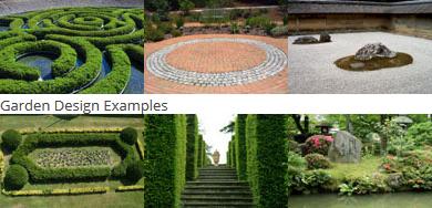 examples of garden design